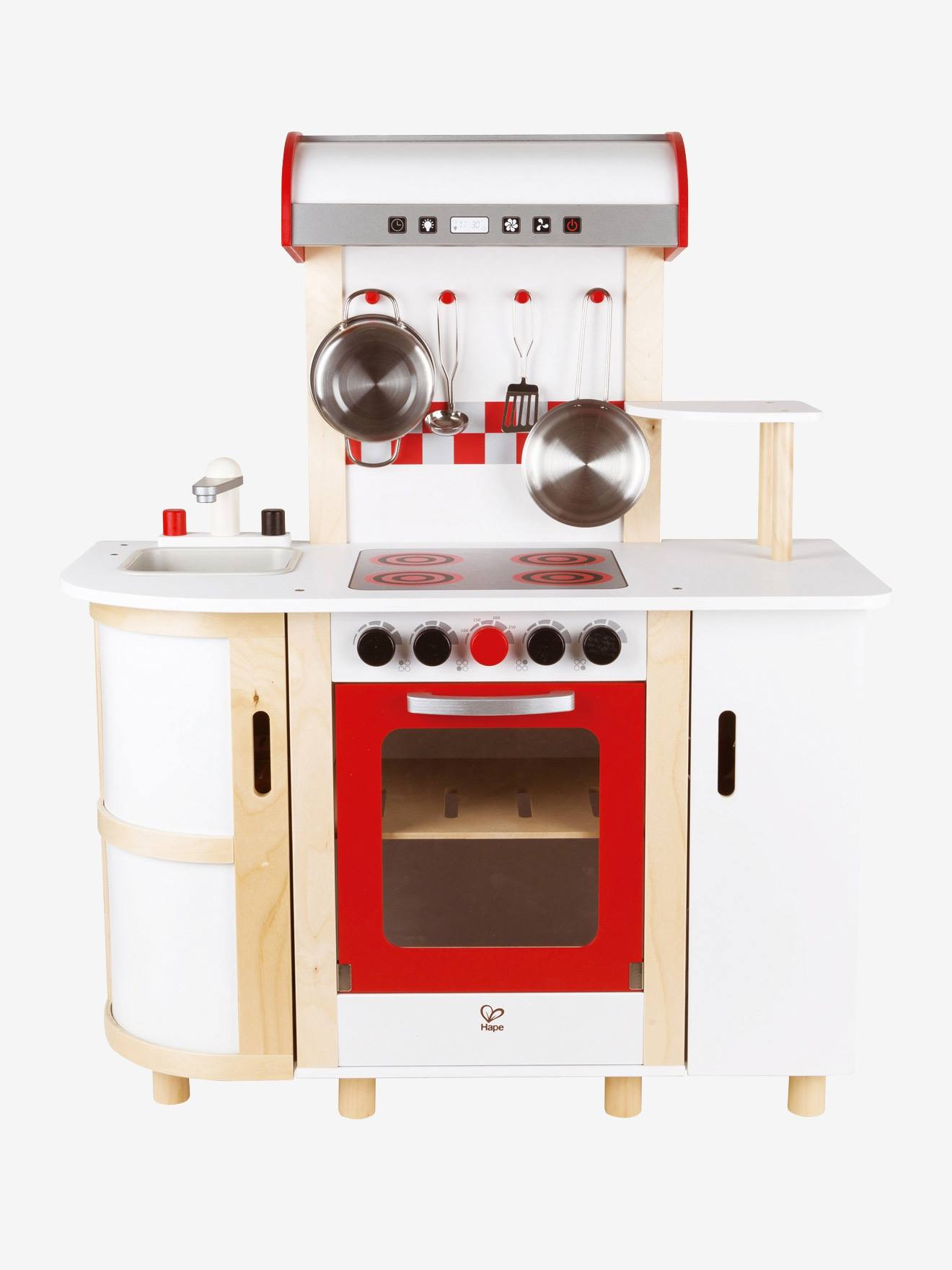 grande cuisinette en bois hape multicolore hape. Black Bedroom Furniture Sets. Home Design Ideas
