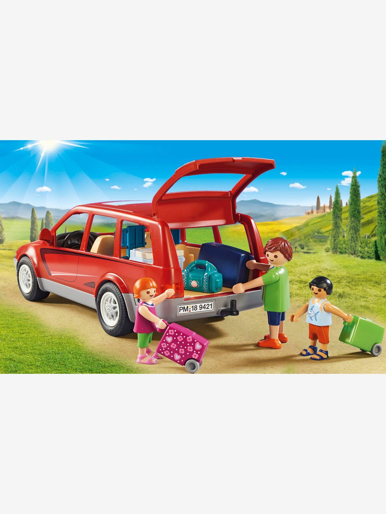 Playmobil Rouge 9421 Famille Voiture Avec Lc35A4jqR