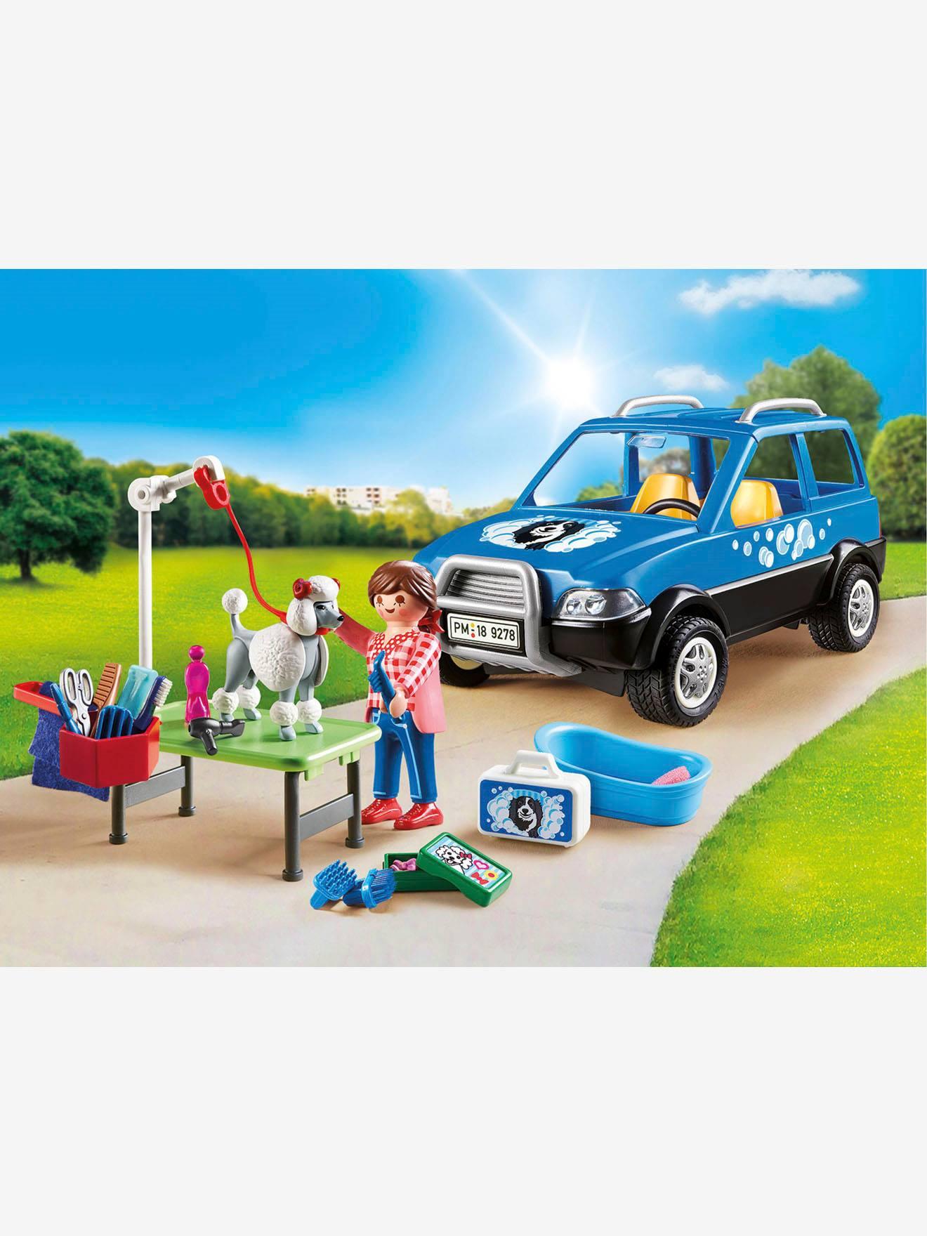 Toiletteuse Playmobil 9278 Bleu Véhicule Avec UzGSMqVp