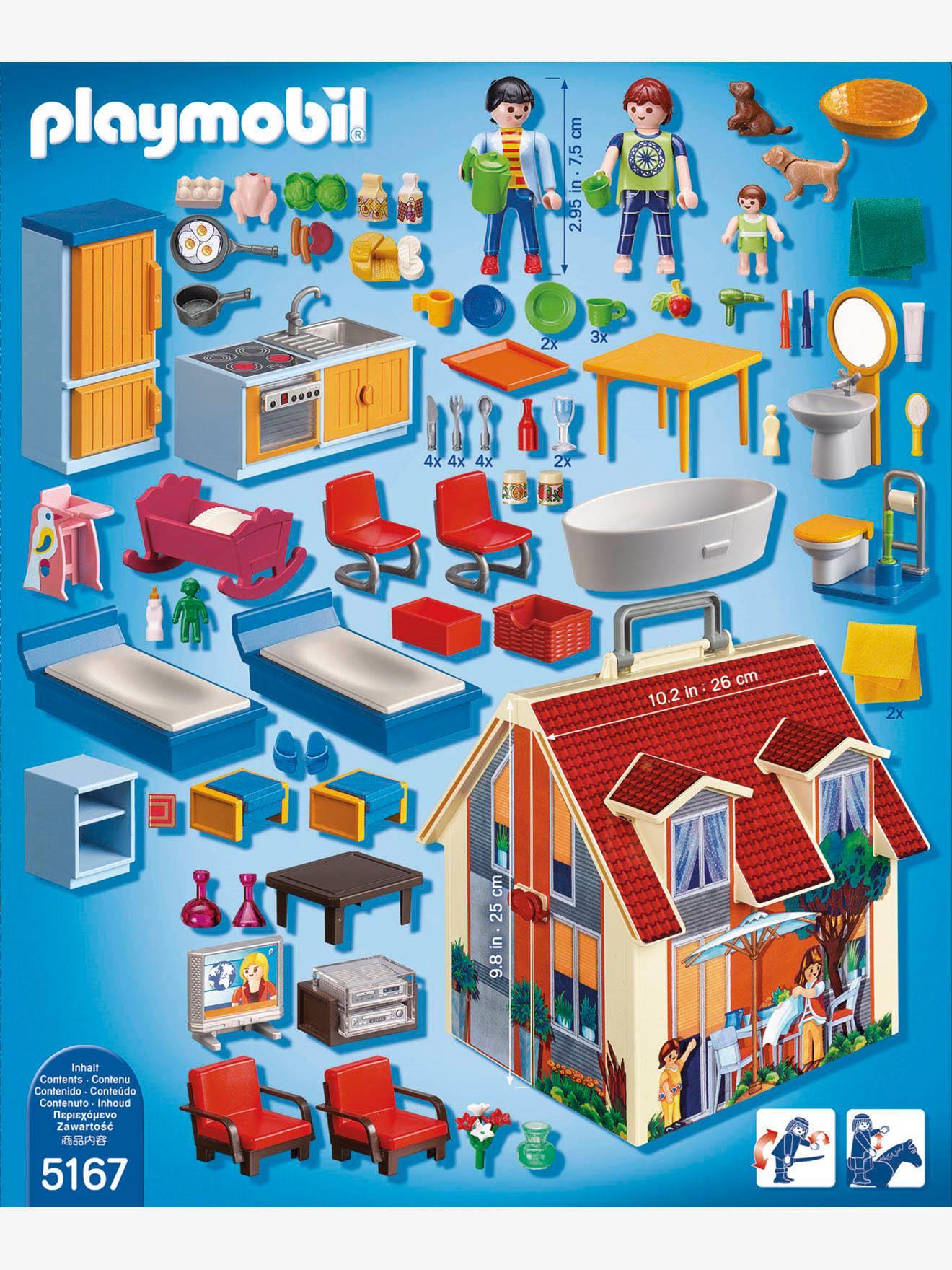 Comment construire la maison de campagne playmobil Maison transportable
