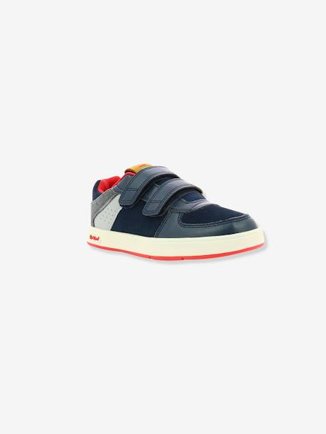 Baskets Sneakers garçon Gready Low KICKERS® MARINE ROUGE 1 - vertbaudet enfant