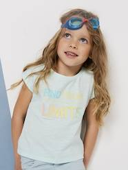 T-shirt fille message fantaisie  [numero-image] - vertbaudet enfant