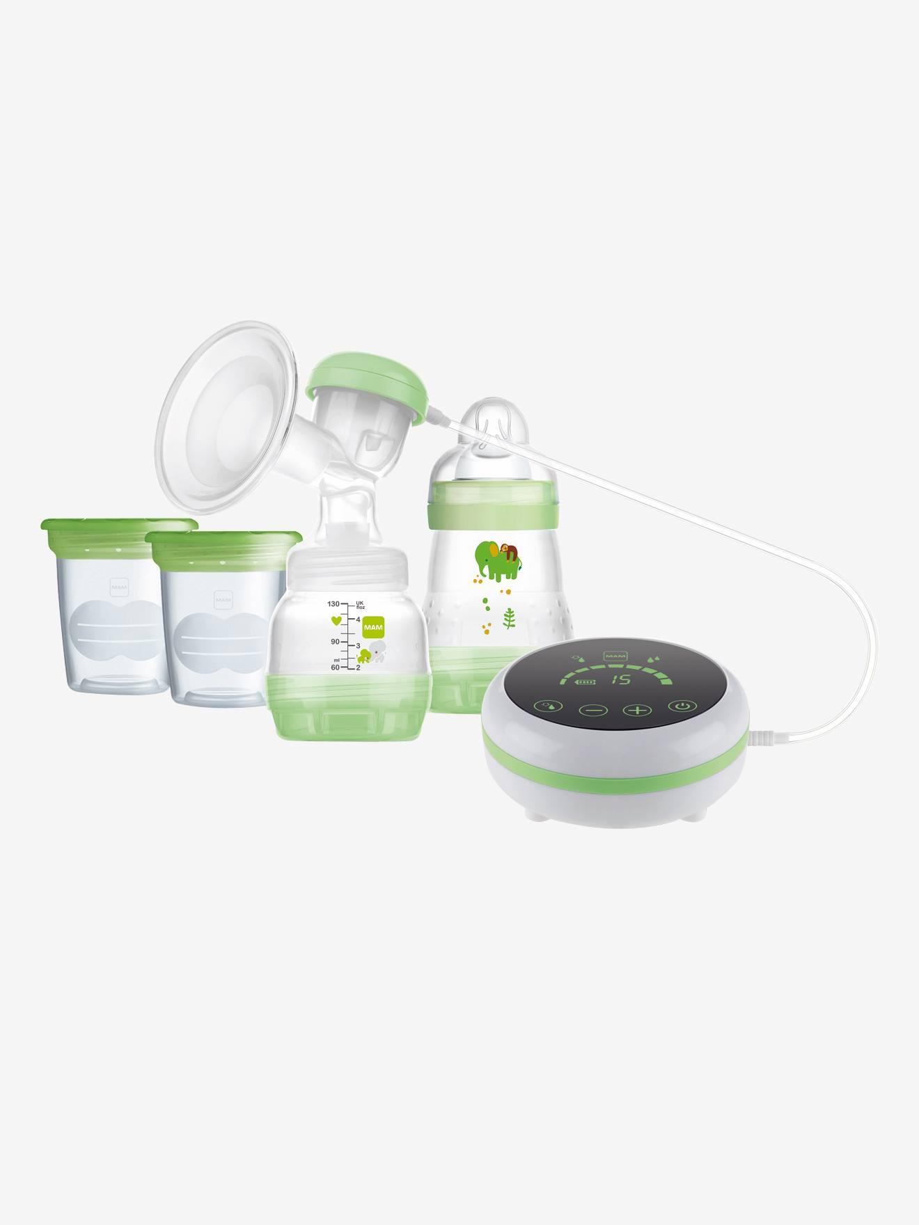 Tire-lait MAM 2 en 1 électrique et manuel vert