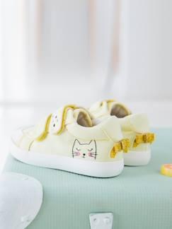 32614bcb9a72 Chaussure de marche bébé Jaune - Chaussures premiers pas pour filles ...