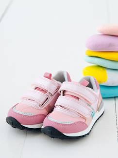 aedd575c578f1 Chaussures-Chaussures bébé 16-26-Marche fille 19-26-Baskets scratchées