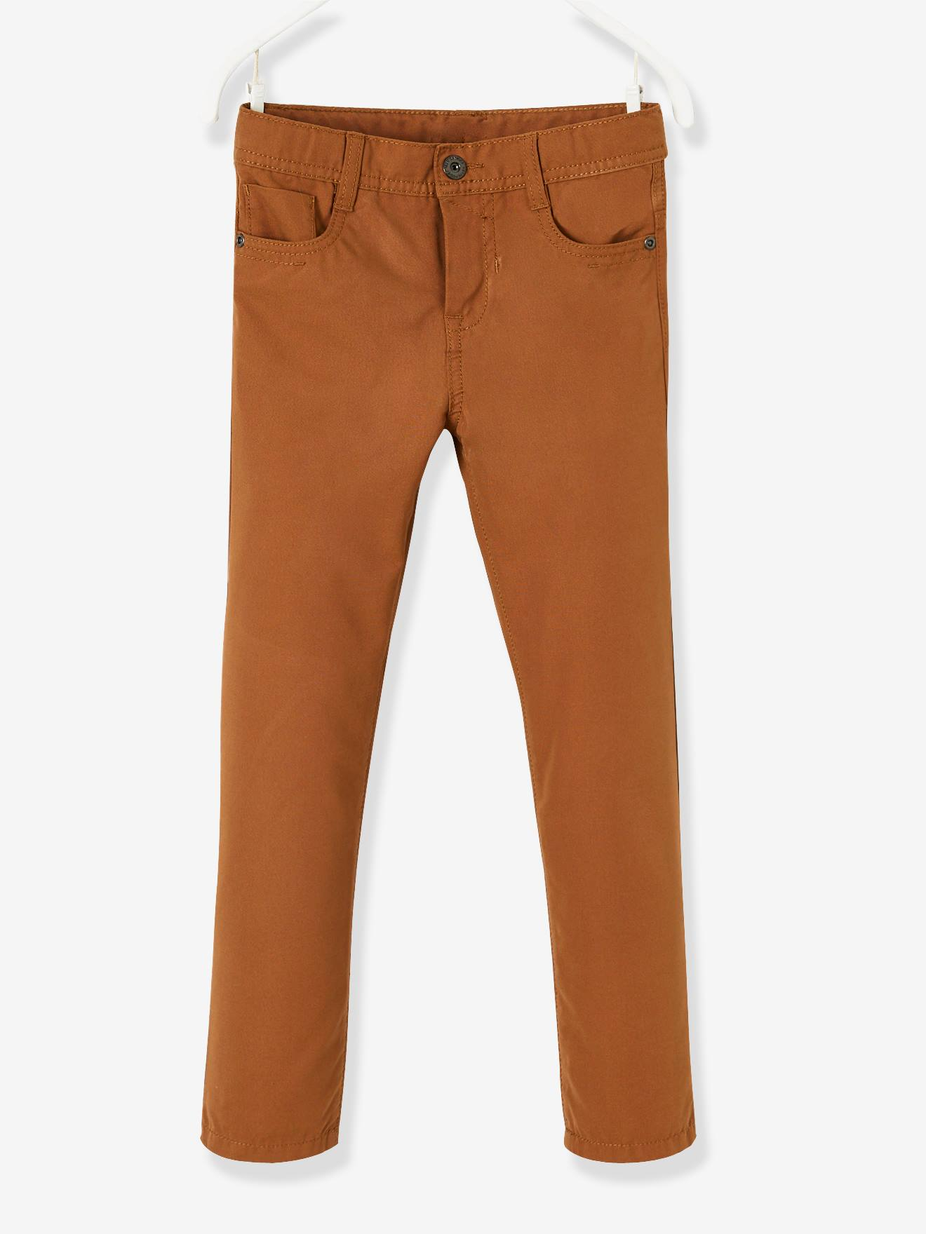 Pantalon garçon enfant Marron - Pantalons