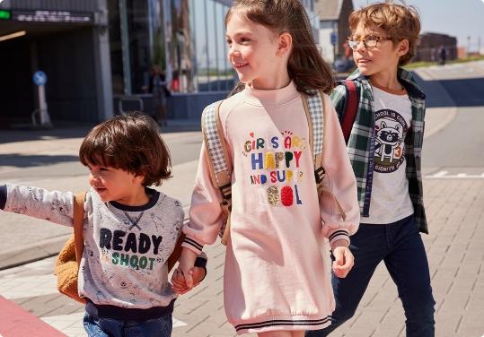 Rhabiller les enfants pour la rentrée