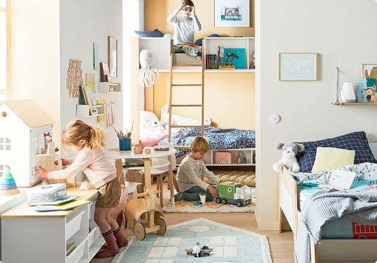 Une chambre pour 2 ou 3 enfants